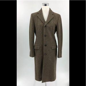 Ralph Lauren Coat Jacket 100% Pure Wool Size 8